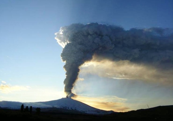 Mount Etna eruption in July 2014: a minor eruption but still sensational to be standing a coupe of hundred meters away from the explosions. Destination Sicily DMC - destinationsicily.it