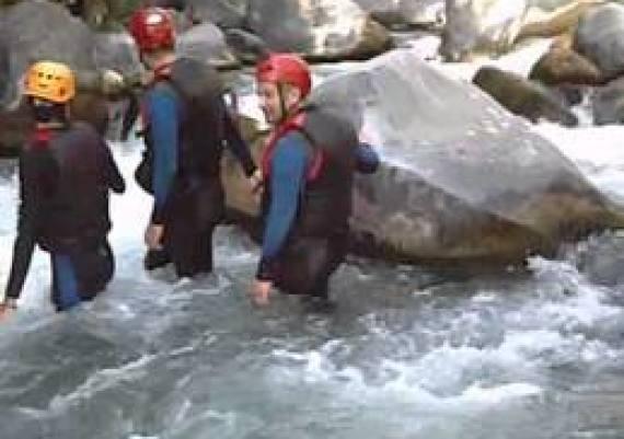 CANYONING RIVER TREKKING ALCANTARA