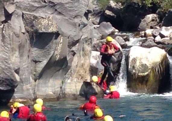 VIDEO CANYONING RIVER TREKKING ALCANTARA